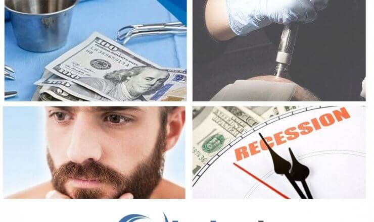 Hair Transplant Costs Retreating in Recession